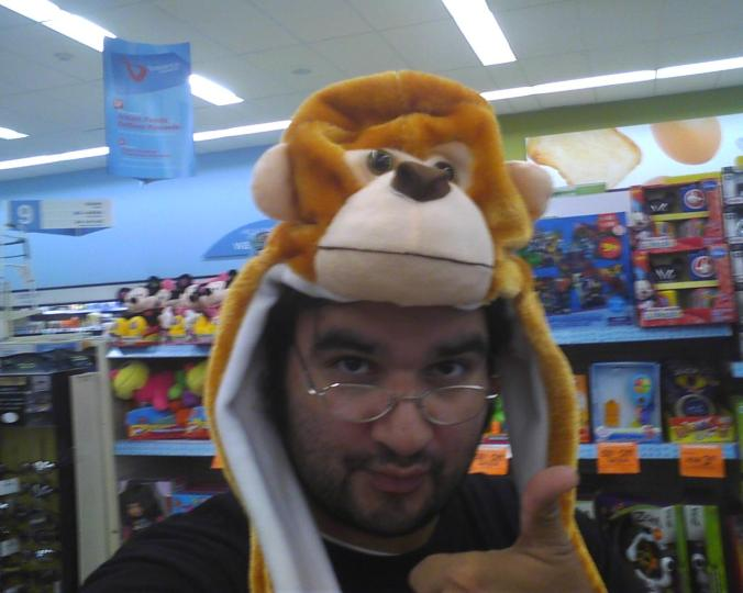 I'm not one to monkey around!