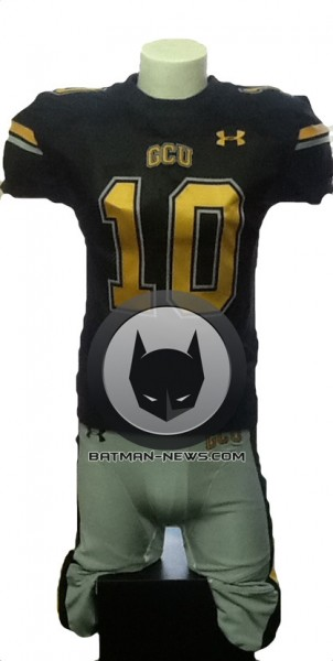 Gotham's team uniform