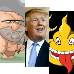 Just like any Pokemon, Trump has 3 evolution staged...his last one is turning into poop
